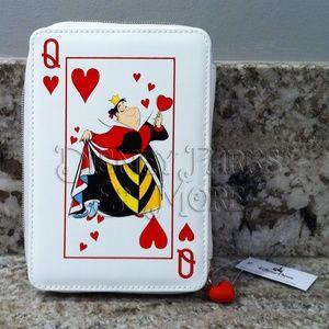 Disney Alice in Wonderland Queen of Hearts Clutch